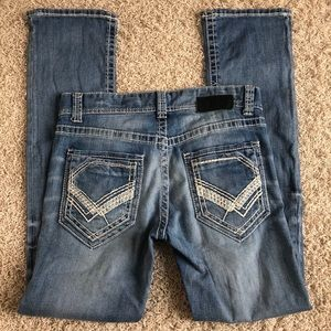Other - Men's buckle black jeans